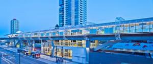 Metrotown Station, Skytrain, Burnaby BC